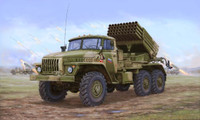 Russian BM-21 Hail MRL (Multiple Rocket Launcher) Late Version 1/35 Trumpeter