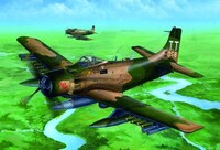 A1J AD7 Skyraider Aircraft 1/32 Trumpeter