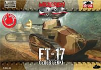FT17 Light Tank w/Octagonal Turret & Machine Gun 1/72 First To Fight Models