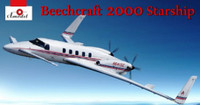 Beechcraft 2000 Starship 'N641SE' Twin-Engined Business Aircraft 1/72 A-Model