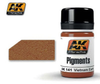Vietnam Earth Pigment (35ml Bottle) AK Interactive