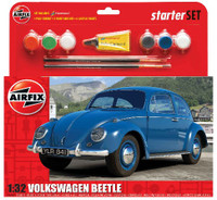 VW Beetle Car Medium Starter Set 1/32 Airfix