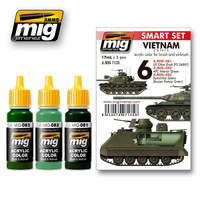 Vietnam Colors Set Ammo of Mig Jimenez