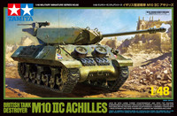 British M10 Achilles IIC Tank Destroyer 1/48 Tamiya