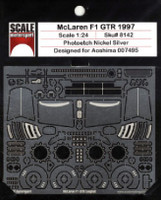 1997 McLaren F1 GTR Photo-Etch Detail Set For Aoshima 1/24 Scale Motorsport