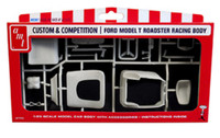 Ford Model T Racing Body Car Parts Pack 1/25 AMT