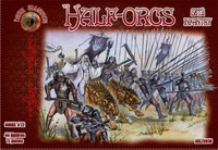 Half Orcs Infantry Set #2 Figures (44) 1/72 Alliance Figures