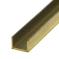 "3/16""x12"" Brass Channel K&S Engineering"