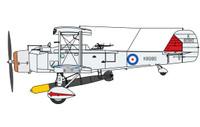 Vickers Vildebeest Mk IV Perseus Engine Version RAF Biplane 1/72 Special Hobby