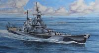 USS Missouri Battleship WWII 1/1200 Revell Germany