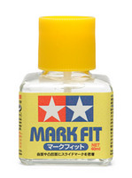 Mark Fit Decal Solution (40ml Bottle) Tamiya
