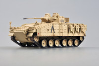 MVC 80 (Warrior) Tank 1st Bn Staffordshire Rgmt 7th Armored Brigade Iraq 1991 (Built-Up Plastic) 1/72 Easy Model