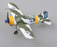 Brewster Buffalo Finnish Air Force 1942 (Built-Up Plastic) 1/72 Easy Model