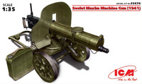 Soviet Maxim Machine Gun 1941 1/35 ICM