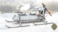 RF8 GAZ98K Aerosan 1/72 Ace Models
