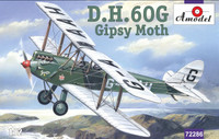 DH-60G Gipsy Moth 2-Seater Biplane 1/72 A-Model