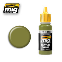 Modern Russian Light Green Khaki Ammo of Mig Jimenez