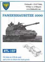 Panzerhaubitze 2000 Track Set (185 Links) 1/35 Friulmodel