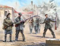 Soviet Militia 1941 (Snap Kit) 1/72 Zvezda