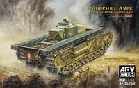 Churchill AVRE Tank w/Snake Launcher 1/35 AFV Club