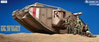 WWI British Mk IV Male Tank (Motorized) 1/35 Tamiya