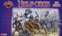 Half Orcs Pikemen Set #1 Figures (32) 1/72 Alliance Figures