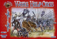 Warg Half Orcs Figures (12 Mtd) 1/72 Alliance Figures