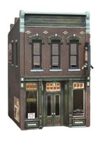 Sully's Tavern 2-Story Building O Scale Woodland Scenics