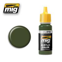 Russian Green Ammo of Mig Jimenez