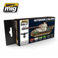 Interior Colors: German Tanks Ammo of Mig Jimenez
