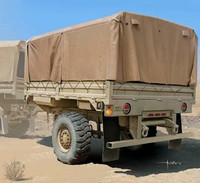 M1082 LMTVT (Light Medium Tactical Vehicle Trailer) 1/35 Trumpeter