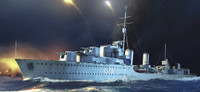 HMS Zulu British Tribal Class Destroyer 1941 1/350 Trumpeter