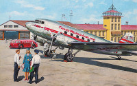 DC-3 Trans World Airlines Airliner 1/144 Roden