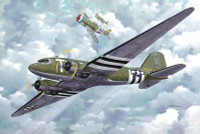 C-47 Skytrain US Transport Aircraft 1/144 Roden