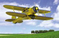 Beechcraft D17S Staggerwing Light Commercial BiPlane 1/48 Roden