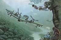 OV-1A/JOV-1A Mohawk Vietnam/Later era Armed Observation & Intelligence USAAF Aircraft (Re-Issue) 1/48 Roden