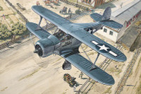 Beechcraft GB2 Staggerwing (Traveller) WWII US Courier BiPlane 1/48 Roden