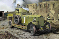Pattern 1914 WWI British Armored Car 1/35 Roden