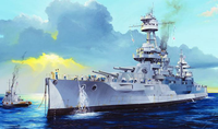 USS New York BB-34 Battleship 1/350 Trumpeter