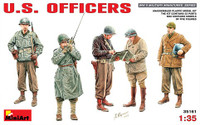 US Officers (5) 1/35 Minart