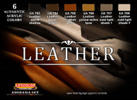 Leather Acrylic Paint Set Lifecolor