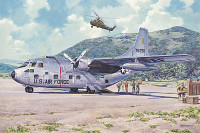Fairchild C-123B Provider USAF Transport Aircraft 1/72 Roden