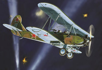 WWII Soviet Po-2 Bomber BiPlane (Snap Kit) 1/144 Zvezda