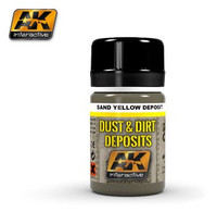 Dust & Dirt Deposits Sand Yellow 35ml Enamel AK Interactive