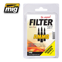 Filter Set for German Tanks Ammo of Mig Jimenez