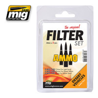 Filter Set for Desert Vehicles Ammo of Mig Jimenez