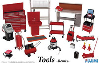 Garage Tool Set - Remix 1/24 Fujimi