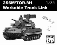 2S6M/TOR-M1 Workable Track Links 1/35 Panda Models