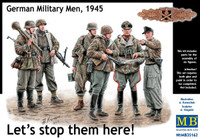 'Let's Stop Them Here!' German Military Men 1945 1/35 Master Box