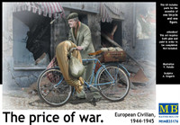 'The Price of War' European Civilian 1944-1945 1/35 Master Box